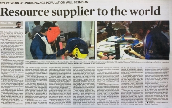 Skill India and turning India into skill capital of the world- Article by Consul General Abhishek Shukla in Cape Times of March 16, 2018