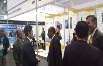 India Pavilion at African Utility Week in CTICC