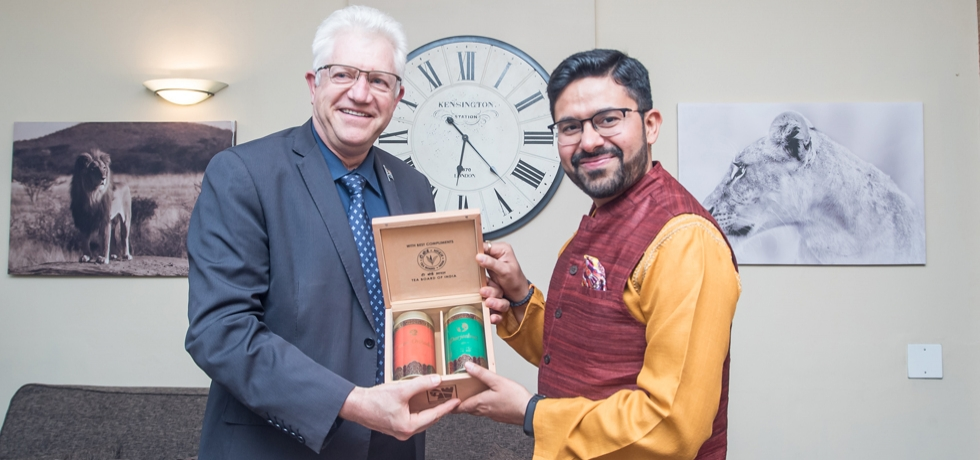 Consul General's farewell call on Premier Allan Winde 25th September, 2019