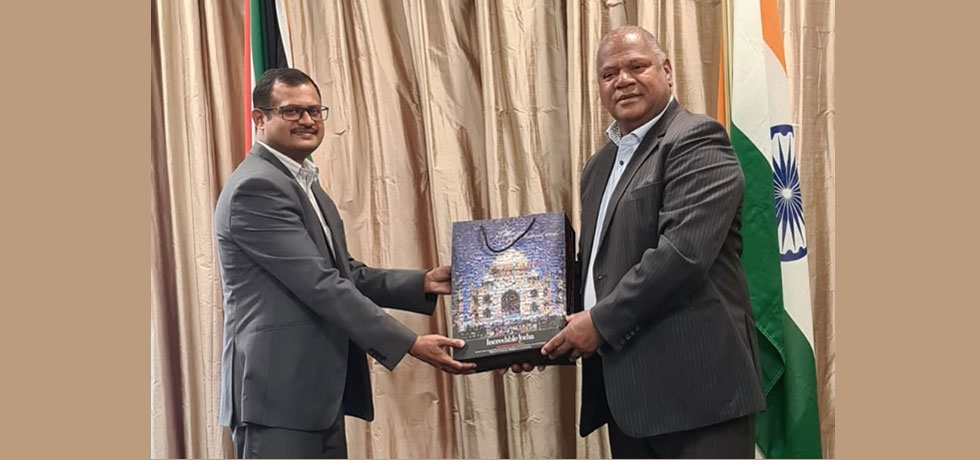 Consul General had an official call on Executive Mayor of Cape Town Hon. Dan Plato  City of Cape Town on 16th October, 2020