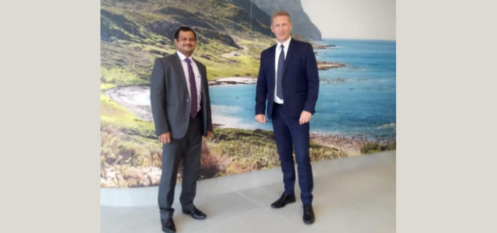 Consul General had a meeting with Alderman JP Smith, Mayoral Committee Member : Safety & Security  on 4th September, 2020